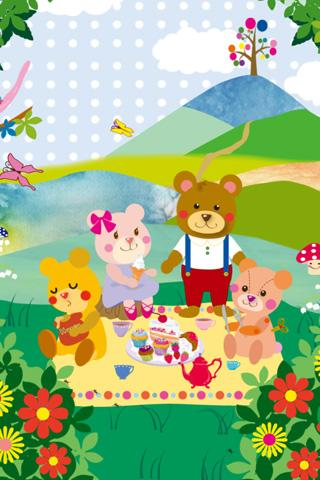 KUMA-JIRO with friends Free - screenshot
