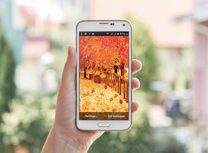 Natural HD Live Wallpaper - náhled