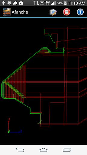 CNC Lathe G-Code Viewer