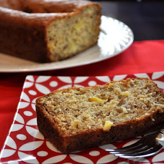 Red Banana Pineapple Bread