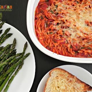 Easy Baked Spaghetti – #glutenfree.