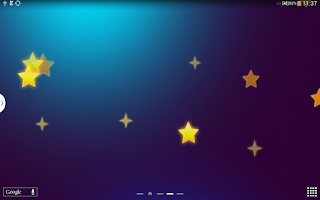 Screenshot of Stars Live Wallpaper