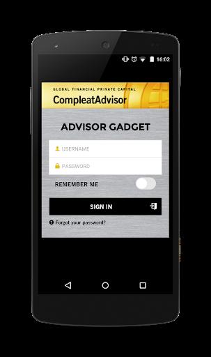 Advisor Gadget