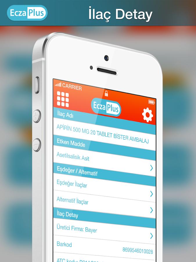 EczaPlus İlaç Bilgi Sistemi - screenshot