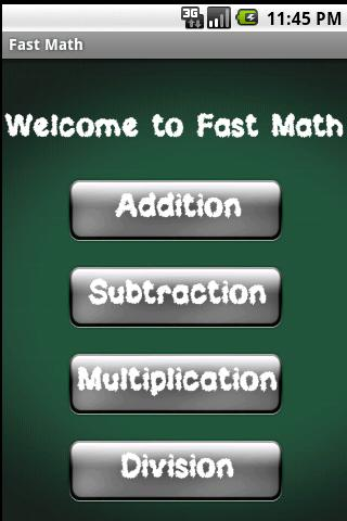 Fast Math - screenshot