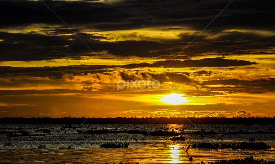 Backwaters by John Anthony - Landscapes Sunsets & Sunrises