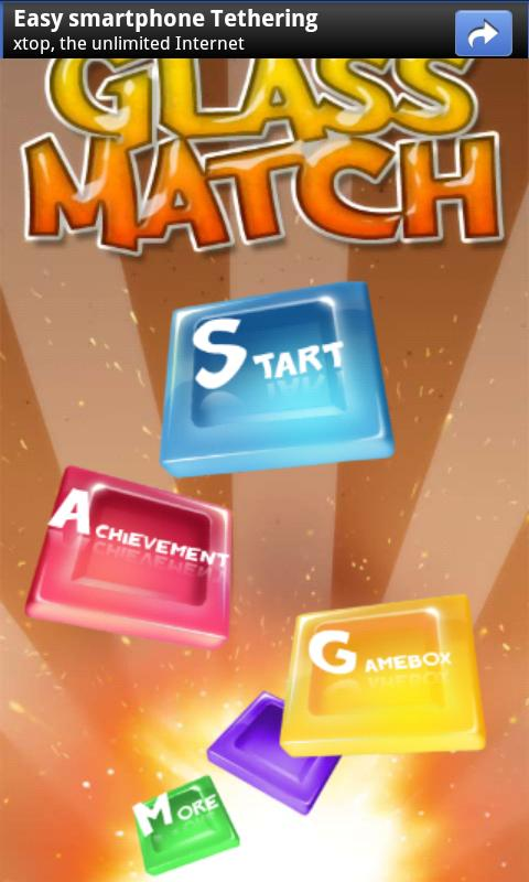 Glass Match Blast- screenshot