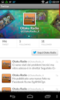 Screenshot of Otaku Radio