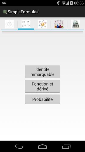 Simple Formules