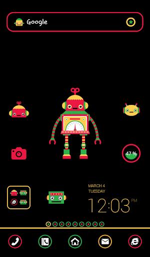 wonder robot dodol theme