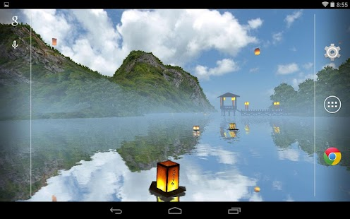 Lantern Festival 3D Live Wallpaper- screenshot thumbnail