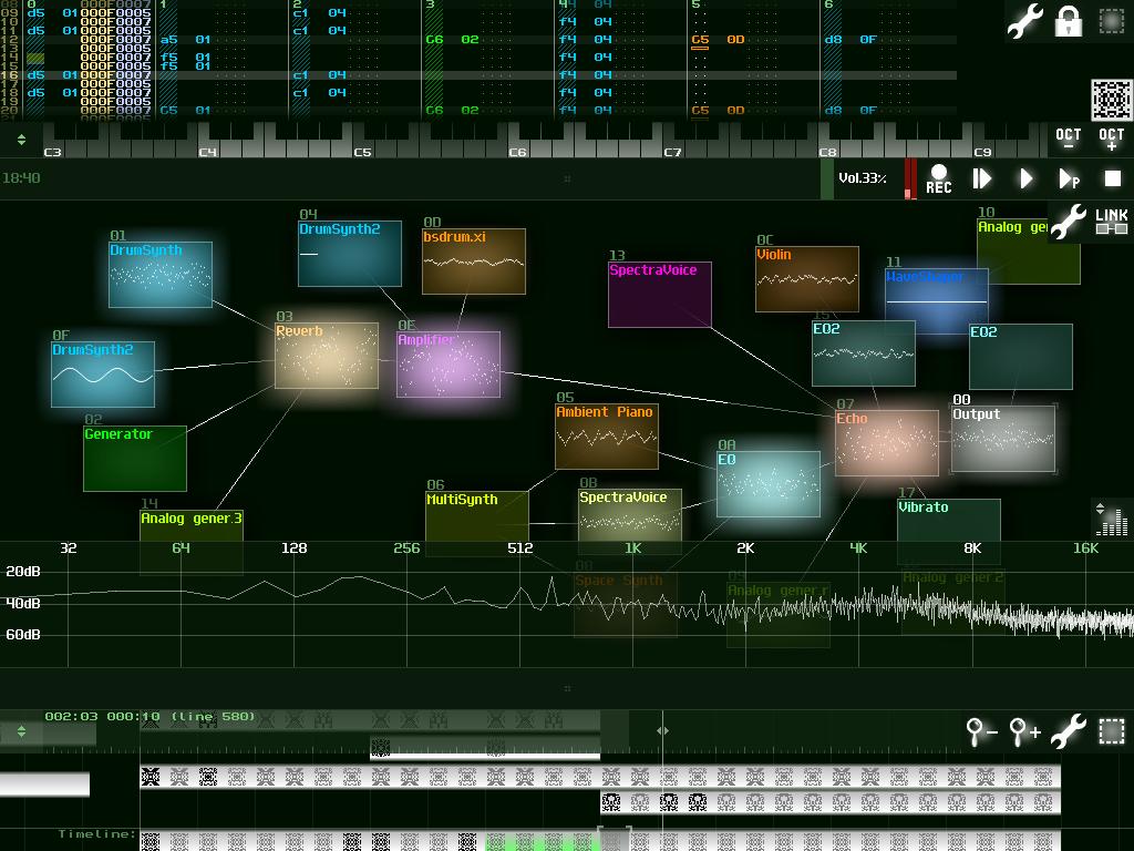 SunVox - screenshot