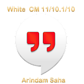 CM11/CM10.1 White HD Theme