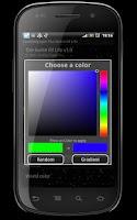 Screenshot of LiveWallpaper The Game Of Life
