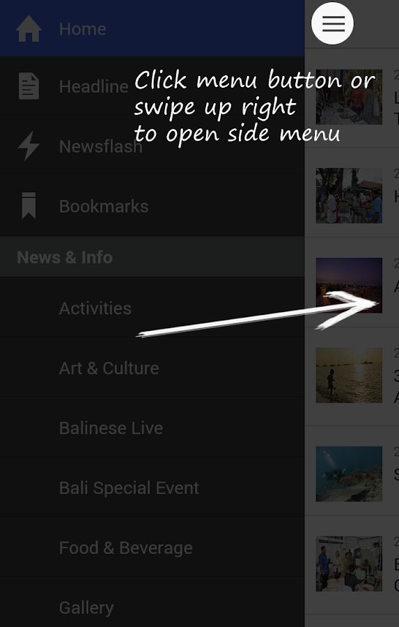 Bali Travel News for Android- screenshot