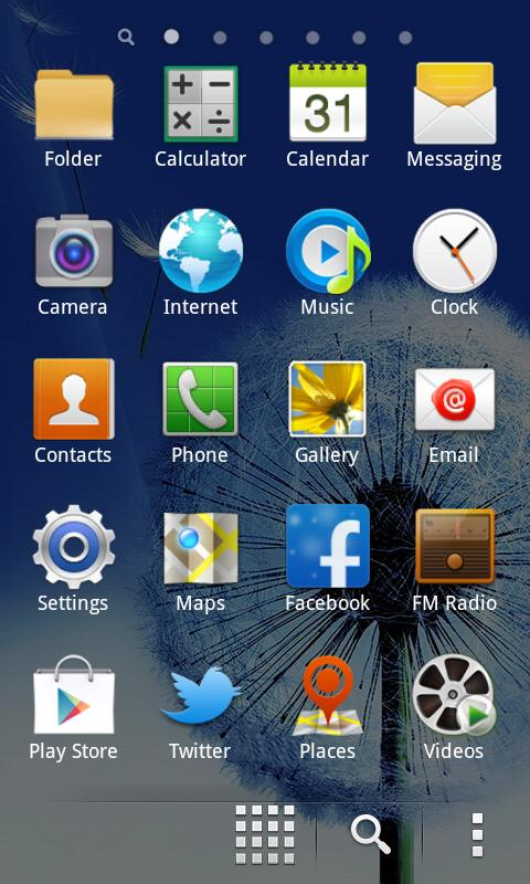 Galaxy S4 Nova Go Launcher - screenshot