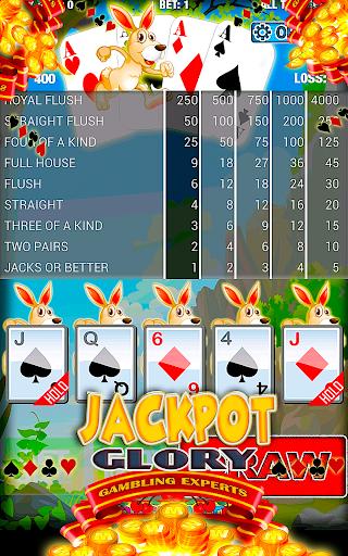 Bunny Racing Poker Free Card