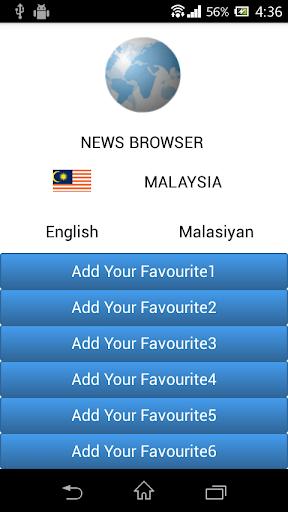 Malaysia News Browser