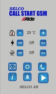 Call Start GSM - náhled