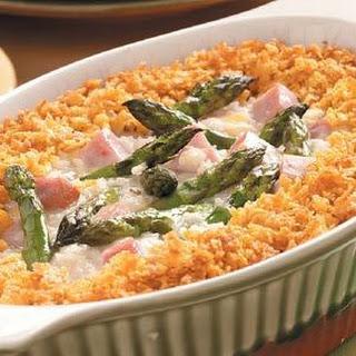 Asparagus Ham Bake
