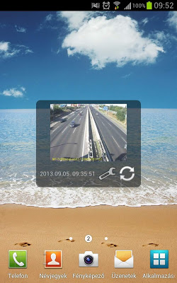 Web image widget - screenshot