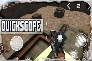 Screenshot of Block War Multiplayer FPS Fun