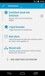 Quick Info DashClock Extension - screenshot thumbnail