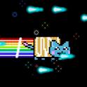 Extreme Rainbow Strudel Cat logo