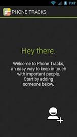 Phone Tracks Screenshot 1