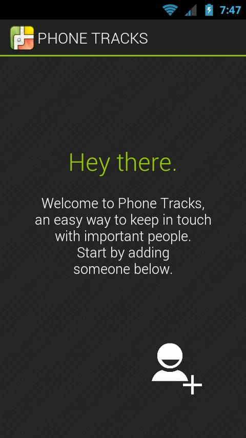 Phone Tracks- screenshot