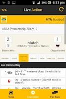 Screenshot of MTN Football