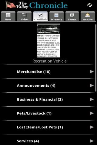 The Valley Chronicle- screenshot