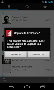 RedPhone :: Secure Calls - screenshot thumbnail