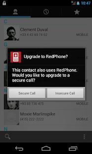 RedPhone :: Private Calls- screenshot thumbnail