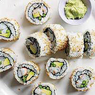 Party Sushi Rolls.