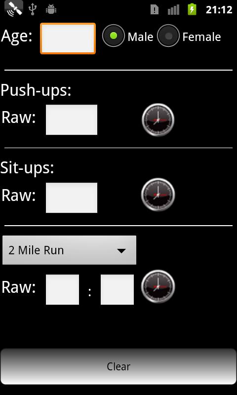 Army Fitness Lite - screenshot