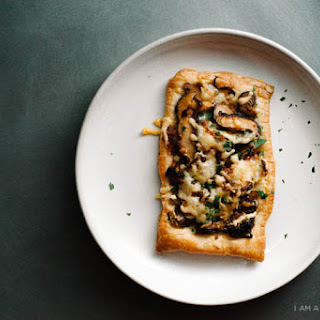 Mushroom Onion Tart