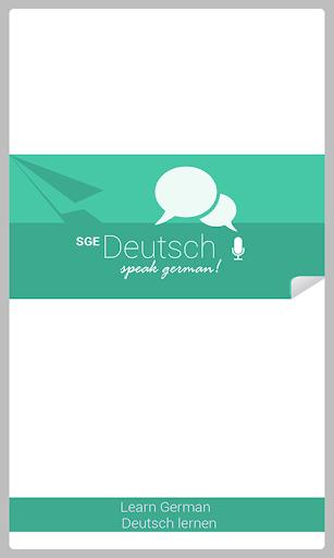 Spoken German SGE