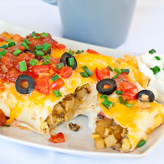 Breakfast Nacho Burritos