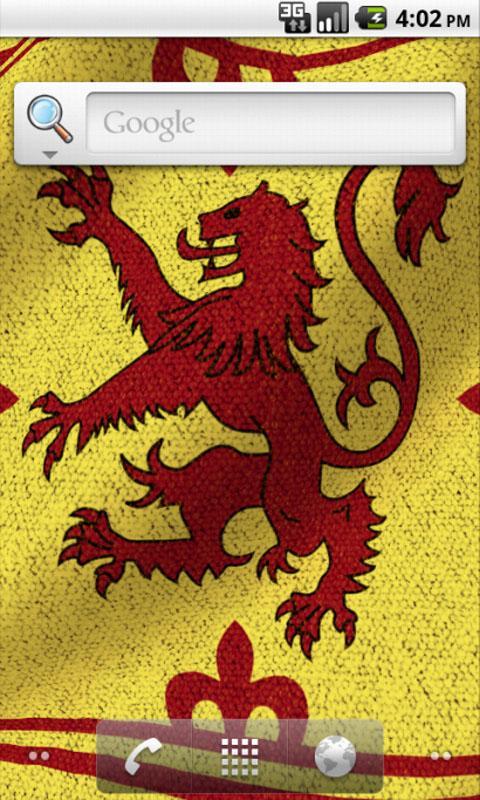 3D Royal Standard of Scotland- screenshot