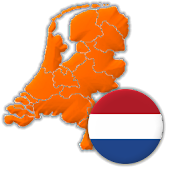 Provinces of the Netherlands - Capitals and Maps