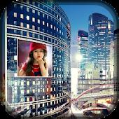 City Hoarding Photo Frame
