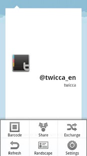 CallingCard plug-in for twicca- screenshot thumbnail