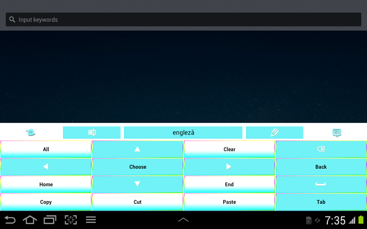 Color Keyboard- screenshot