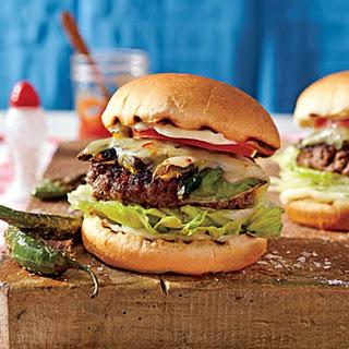 Serrano Pepper Burgers