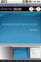 Screenshot of Blue Powerpoint Control DEMO