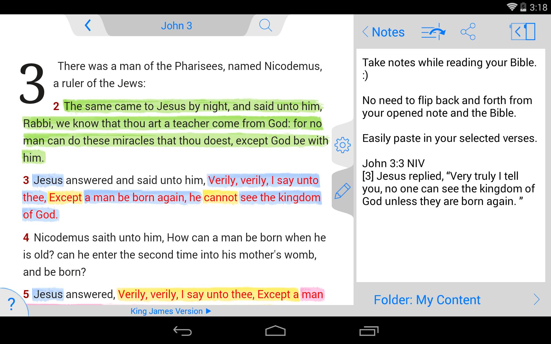 NLT Bible screenshot #22