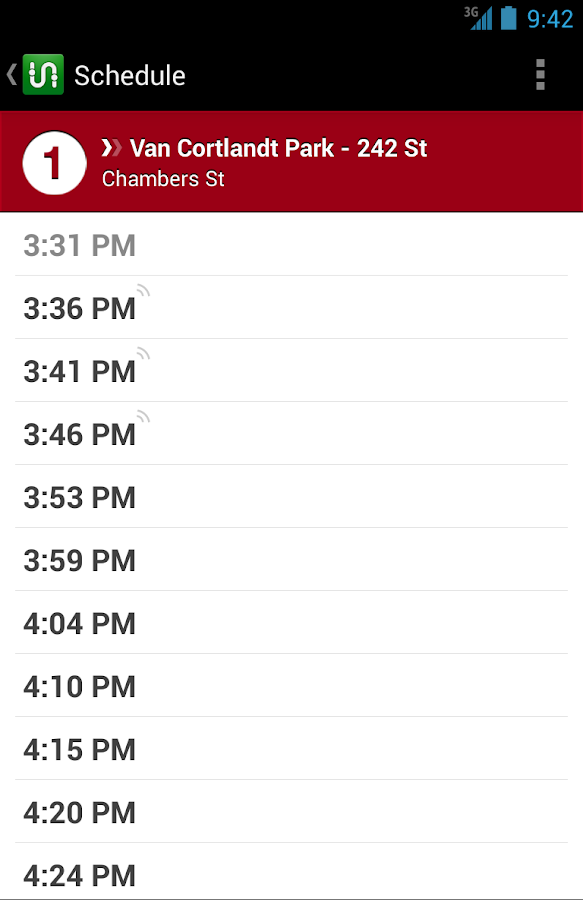 Transit App - screenshot