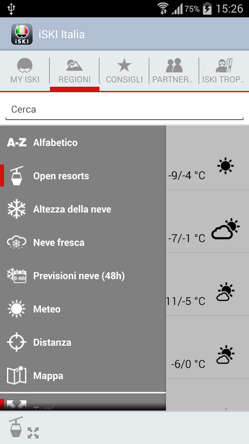 iSKI Italia- screenshot