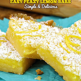 Easy Lemon Bars.